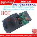 Frete grátis SAM E-SOCKET TP BGA221 repair suporte SAM chips fw trabalhar com caixa de JTAG ATF emmc