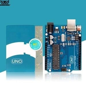 Image 4 - UNO R3อย่างเป็นทางการกล่องATMEGA16U2 + MEGA328PชิปสำหรับArduino UNO R3 Development Board