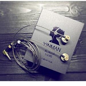 Image 1 - NEW YINMAN 150 ohm High Impedance In Ear Earphone 150ohm Earbud Flat Head Plug Earplugs HIFI Earbud Earphone Limite