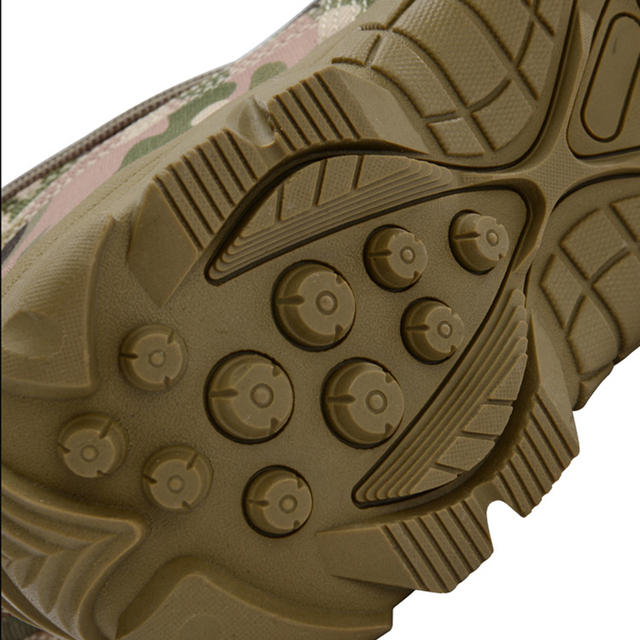 Botas militares de seguridad para hombre calzado de deporte de escalada resistente al agua para el