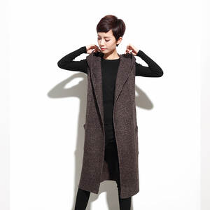 2051692650f7a1 LOW LUV Cashmere wool Sweater Knitted Cardigan Dress Women