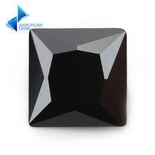 Размер 2x2 ~ 12x12 мм черный цвет в форме принцессы стандартные