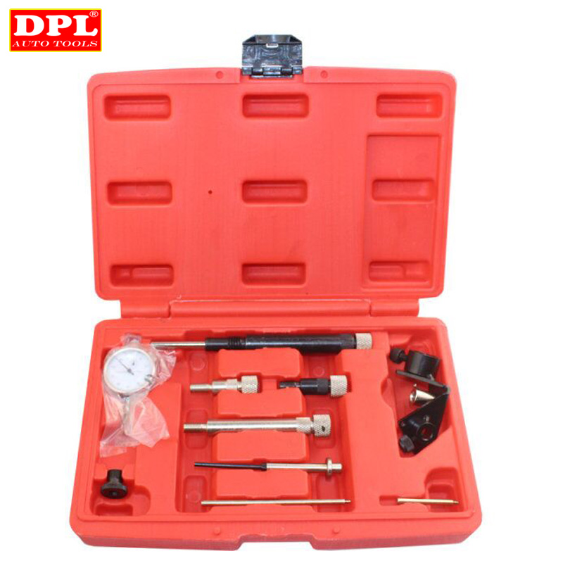 10 Pc Diesel Fuel Injection Pump Timing Indicator Tool Set For Vw Bmw Audi Bosch Ford Diesel Professional Tool
