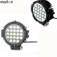 Marloo Universal Car Led Work Light 63W 7 Inch Driving Fog Light For Off Road Truck