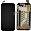 Original Quality LCD Display + Touch Screen Digitizer For Alcatel One Touch Idol 2 OT6037 6037 with Frame