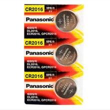 30 шт. бренд Новая батарея для цифрового фотоаппарата PANASONIC cr2016 3 v кнопочный элемент Миниатюрный элемент питания для мобильного часо-компьютер cr