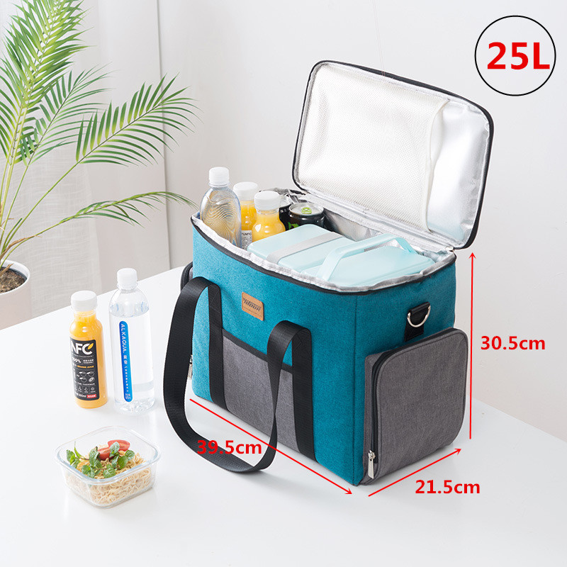 Image 2 - 25L Extra Large Insulated Cooler Bag Thermal Ice Pack Mens Bag 