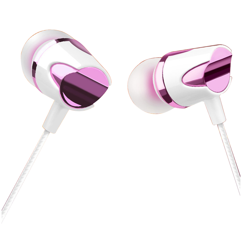 qijiagu 10PCS Interchangeable 3.5mm for Wired Earphone In Ear with Microphone Music Earphones 4 Color for Smart Phones