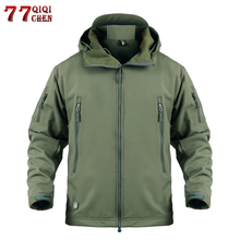 Waterproof Windproof Soft Shell Tactical Jackets Mens Windbr
