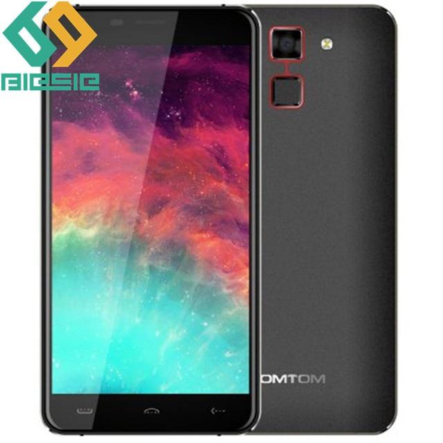 HOMTOM HT30 Fingerprint Smartphone MT6580 Quad Core Android 6.0 1GB RAM 8GB ROM 5.5 Inch 1280x720HD Unlock Cell phone