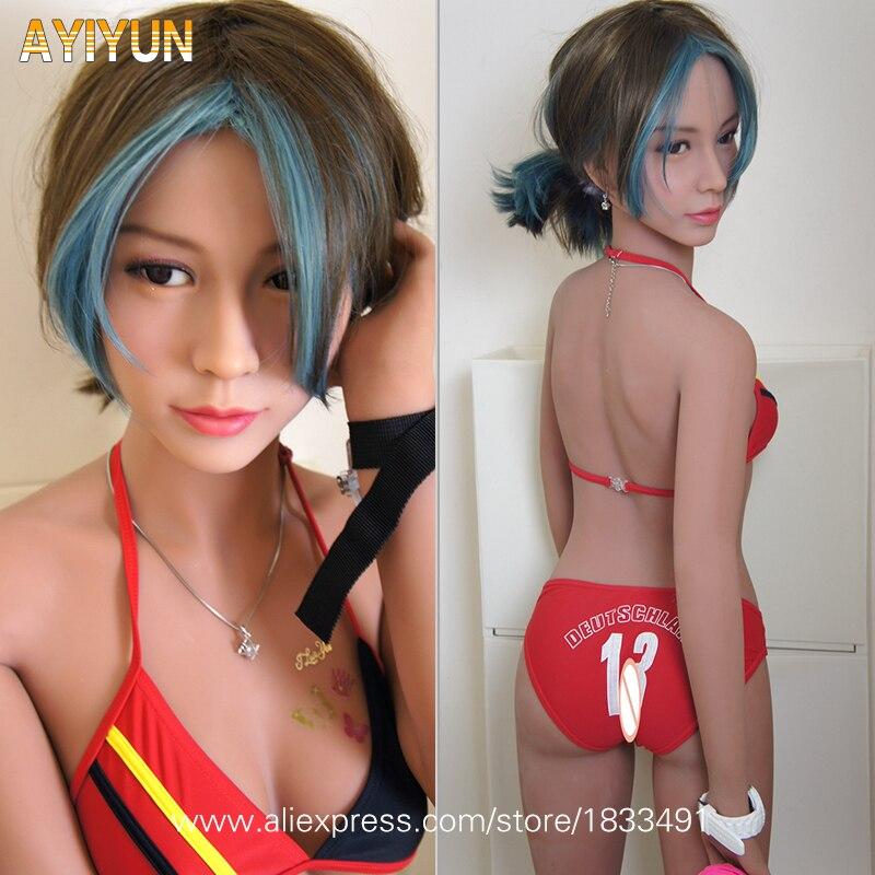 AYIYUN Réel Silicone Sexe Poupées Robot Japonais Anime Plein Orale Poupée D'amour Réaliste Adulte pour Hommes Jouets Gros Seins Sexy mini Vagin