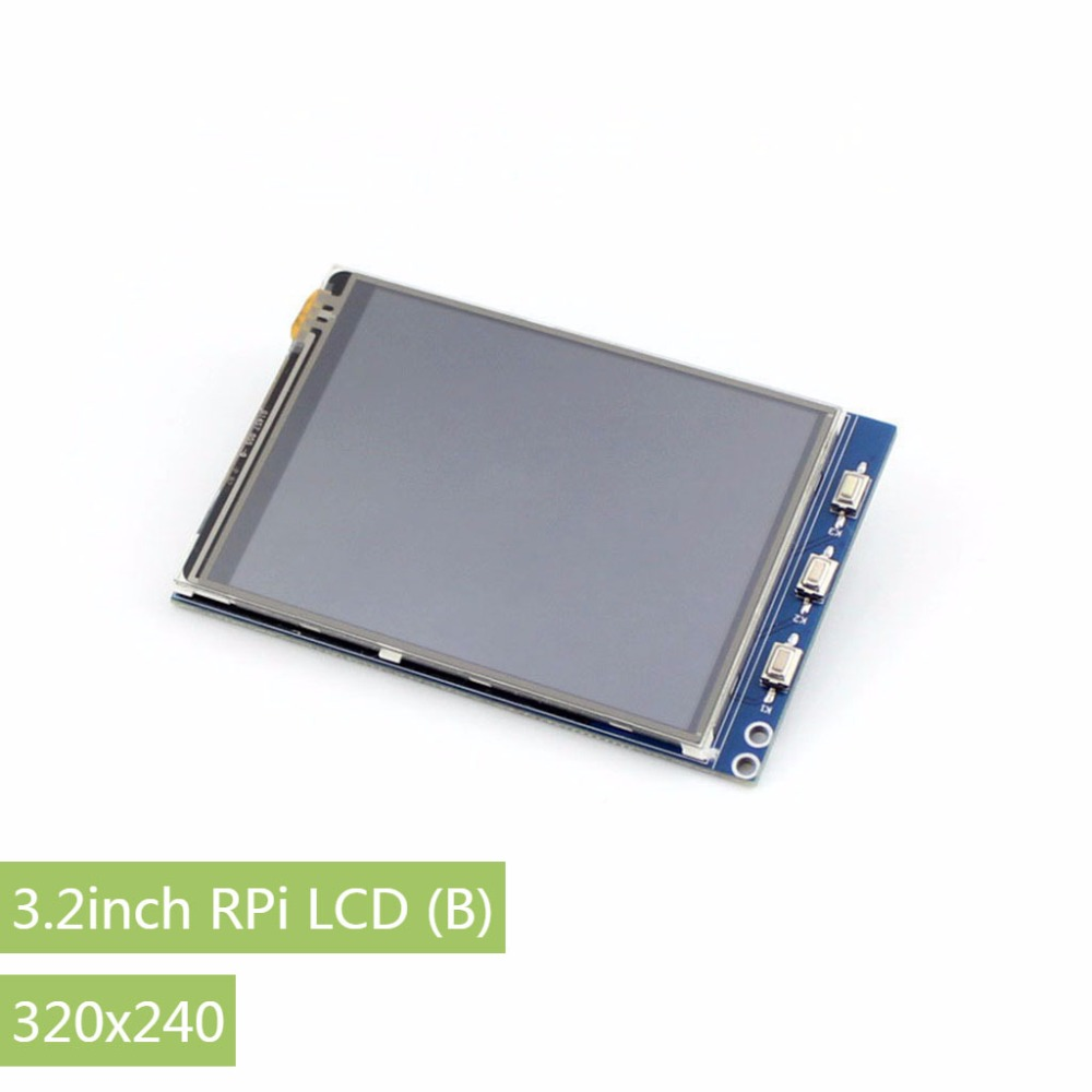 Raspberry Pi Touch Screen 3.2inch TFT LCD with XPT2046 Controller 320*240 Pixel for Any Revision of Raspberry-pi 3 5 inch touch screen tft lcd 320 480 designed for raspberry pi rpi 2