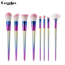 CARELSER 6/8pcs Cosmetic Makeup Brush Blusher Eye Shadow Brushes Set Kit Beautiful Traveling Blending Make Up