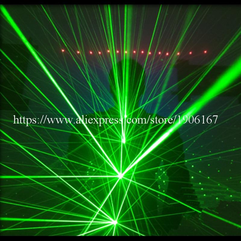 Зялёны колер Касцюм для лазернага - Тавары для святаў і вечарынак - Фота 3