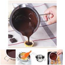 Горячий из нержавеющей стали Шоколадный сыр плавильный горшок для кастрюль DIY Аксессуары Инструмент LSK99