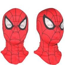 5 шт./партия, супер крутая маска Человека-паука для взрослых детей, полный головы, Хэллоуин, капюшон, Костюмы Животных