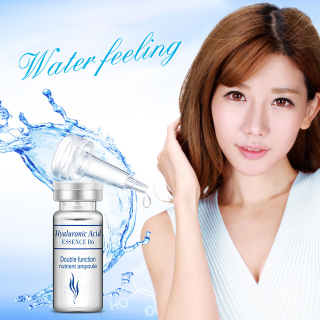 BIOAQUA 10pcs Serum Moisturizing Hyaluronic Acid Vitamins Facial moisturizing Anti Wrinkle Aging Collagen Skin Care Essence