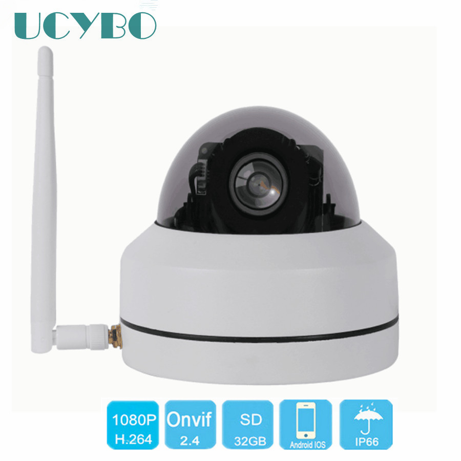 UCYBO wifi ip camera ptz 1080p mini speed dome wireless security cameras outdoor pan tilt 3x zoom video surveillancec wi-fi cam ...