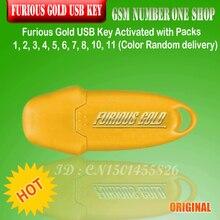 Gsmjustoncct miễn phí vận chuyển Furious Vàng USB Key Kích Hoạt với Gói 1, 2, 3, 4, 5, 6, 7, 8, 11 lớn cập nhật