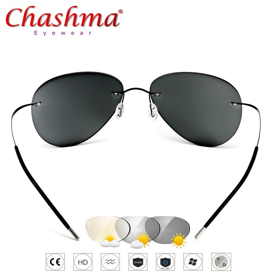 Summer Transition Sunglasses Titanium Photochromic Glasses Frame Men's And Women's 2019 NEW Chameleon Eyeglasses