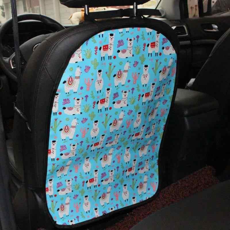 Авто Автоаксессуары подушка для сидения Задний защитный чехол Обложка Дети kick мультяшный коврик чистыми Anti-kick Pad