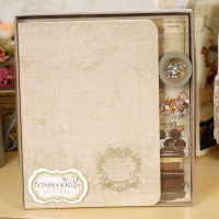 DIY Scrapbook Handmade Photo Album Material Lovers Photo Album Kit Luxury Handmade Clipbook