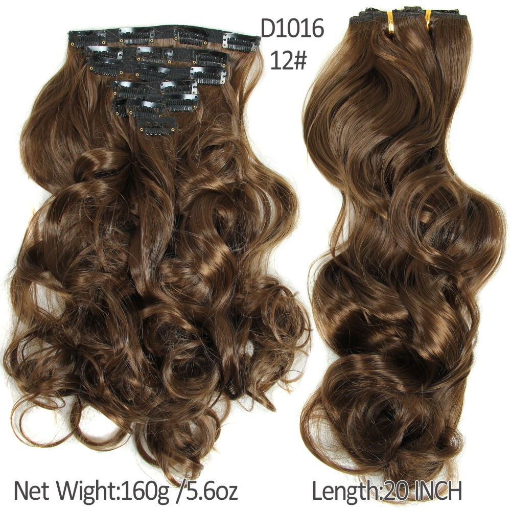 20inch 7pcsset curly wavy hair weave natural synthetic hair 20inch 7pcsset curly wavy hair weave natural synthetic hair extensions hairpieces artificial hair clip in curly hair extensions on aliexpress alibaba pmusecretfo Gallery