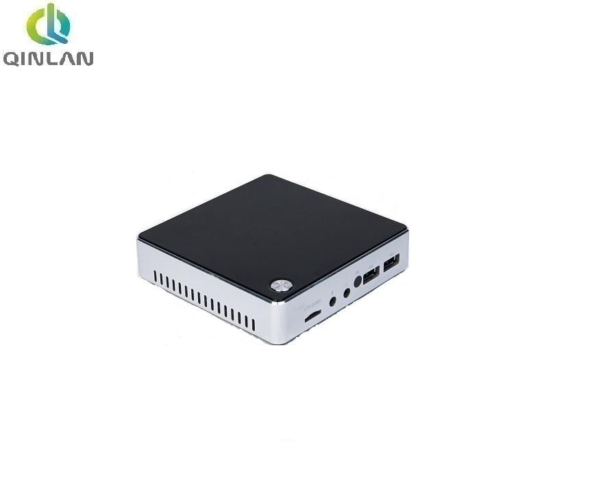 QINLAN Fanless Mini PC with Intel Atom Z3735F Quad Core X86 Cheap Mini Nettop Powerful PC