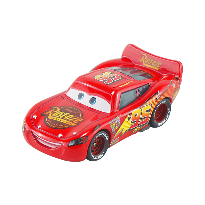 Дисней Pixar Тачки 2 3 Молния Маккуин матер Джексон шторм Рамирез 1:55 литье под давлением автомобиль металлический сплав мальчик малыш игрушки Рождественский подарок - Цвет: McQueen 1.0