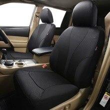 Auto PASS โพลีเอสเตอร์เบาะรถ Universal 4 สีเบาะรองนั่งอุปกรณ์เสริมภายในสำหรับ Volkswagen MAZDA CX 5 Lada