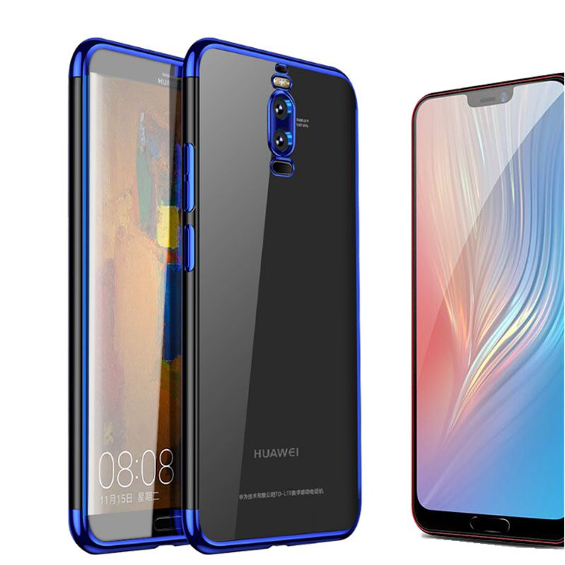 SUREHIN silicone case for Huawei mate 20 10 Lite Pro P20 lite Plus tpu transparent cover soft housing