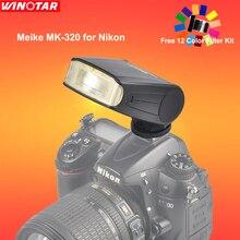 Meike MK320N MK-320 Maestro HSS Speedlite de Destello para Nikon I-TTL D5600 D7200 D7100 D5300 D5200 D3200 D3300 D3100 D750 D810 D5500