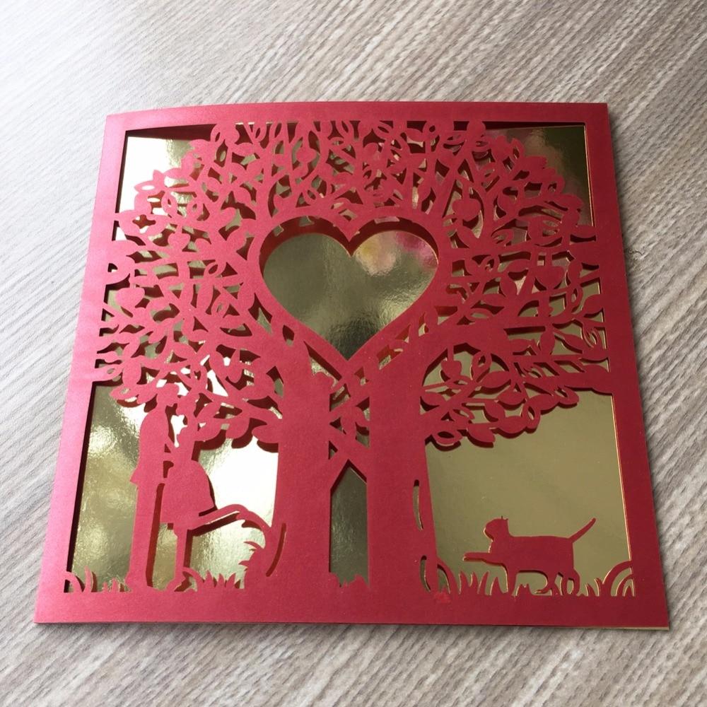 Aliexpress.com : Buy 50pcs/lot Romantic and sweet lovely cat wedding ...