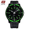 Relógios de Luxo Homens Marca Top Men'Big TTLIFE Nova Moda Dial Designer Relógio de Quartzo relógio de Pulso Masculino relogio masculino relojes