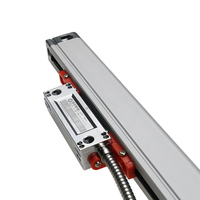 High Precision 1U SINO KA300 Linear Encoder Linear Optical Ruler Scale Measuring 120mm to 970mm for Lathe Milling Machines