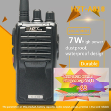цена на Walkie Talkie Imported Chip Civilian 5-10 km Wireless Call Waterproof Earthquake-Resistant Anti-Drop HZT-A818