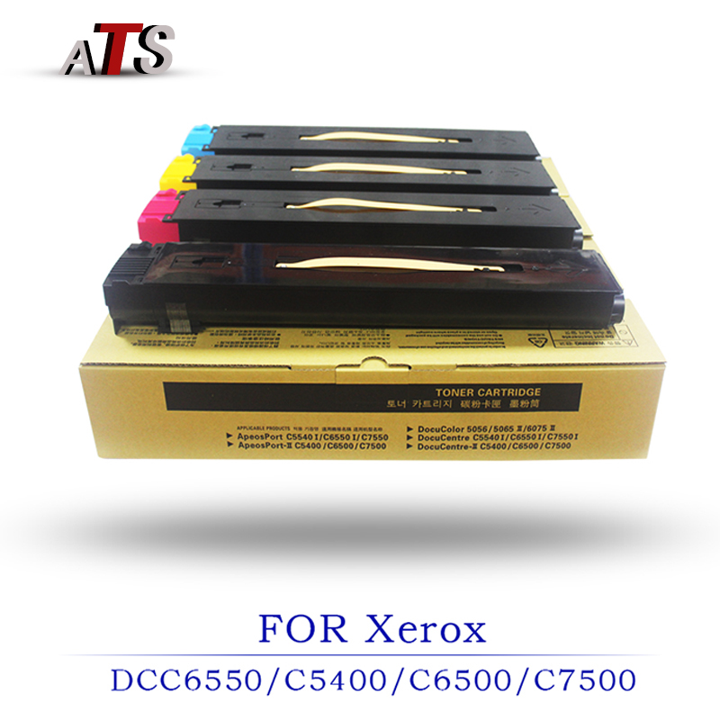 Office Electronics Printer supplies 1PCS Toner Cartridge Photocopier For DCC6550 DCC5400 DCC6500 DCC7500 Copier Spare Parts