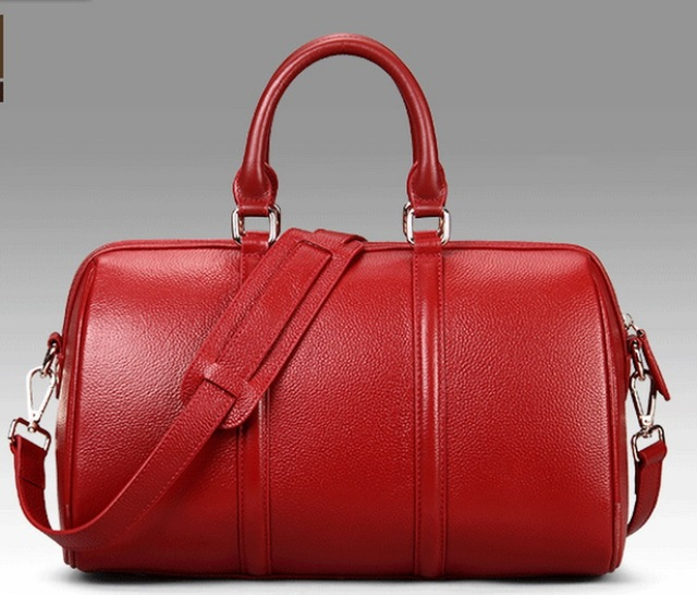 Genuine leather women's tote bag cross body bags genuine soft leather free shipping