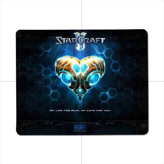 MaiYaCa Starcraft Gaming Gamer Mice Mause Mouse Pad Radiation Non-Skid Rubber Pad Notbook Computer mouse pad muismat 5