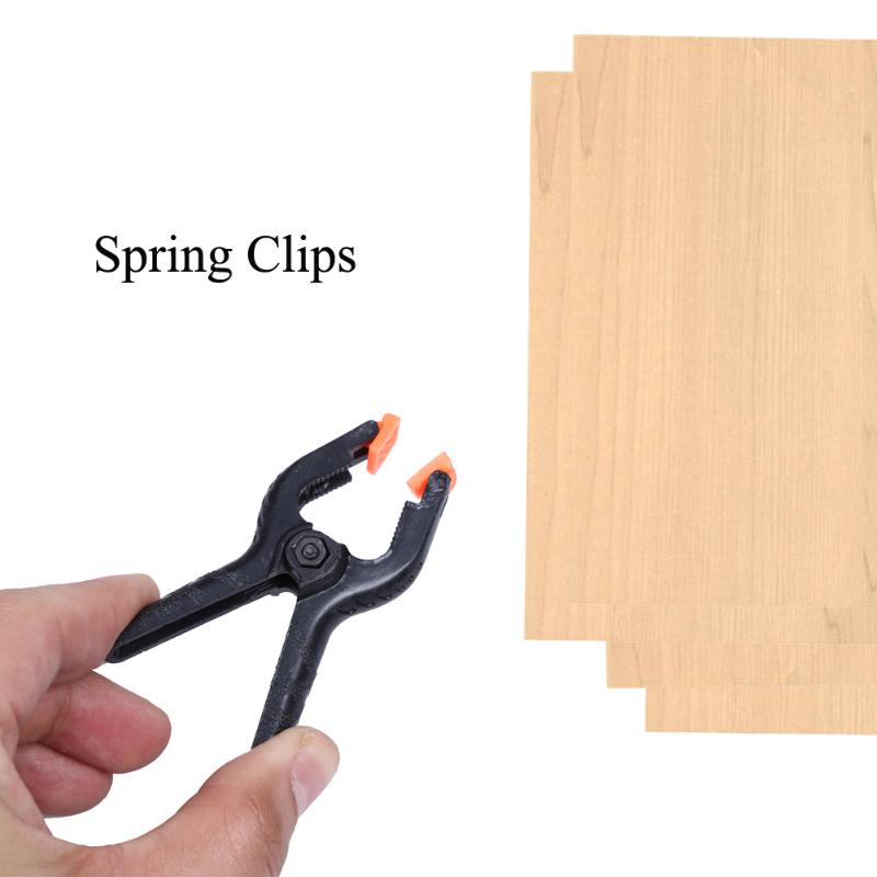 10PCS 2inch Body Length Spring Clips DIY Tools Plastic Nylon Toggle Clamps For Woodworking Spring Clamps Photo Studio Grip Clamp