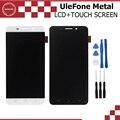 UleFone Display LCD e Montagem da Tela de Toque Parte Reparação de Metal 5.0 de polegada de Metal Móvel Para UleFone Android 6.0 Octa MTK6753 núcleo