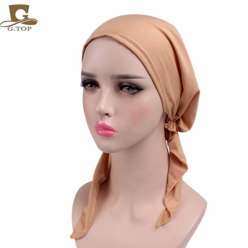 Pain stretchy Pre-Tied head Scarf Head wrap scarves Cancer Chemo cap pain management among colorectal cancer patient on chemotherapy