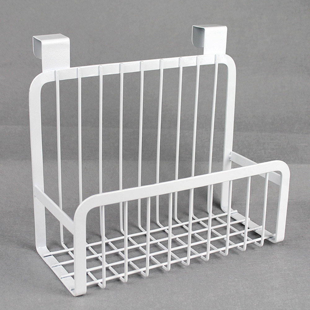 Creative Metal Over Door Storage Basket Practical Kitchen Cabinet Drawer Organizer Door Hanger Storage Basket With The Hook-in Storage Holders u0026 Racks from ... & Creative Metal Over Door Storage Basket Practical Kitchen Cabinet ...
