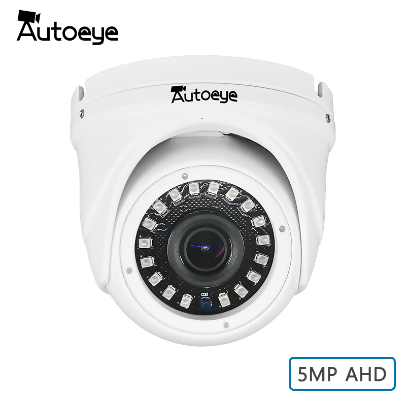 Autoeye SONY 5MP <font><b>IMX326</b></font> AHD Camera Weatherproof Dome AHD Security Video Surveillance Camera image