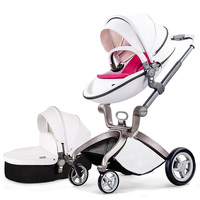 Hot Mum Brand Baby Strollers 2 In 1 Baby Car High Quality With Baby Sleeping Basket