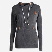 New Fashion Women Hoody 8 Colors Long Sleeve Slim Fit Jumper Hoodies Coat Sweatshirt with hooded free shipping LN835E
