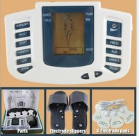 Hot New Electrical Stimulator Full Body Relax Muscle Therapy Massager Pulse Tens Acupuncture With Therapy Slipper