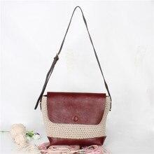 free shipping Pure handmade cotton stitching sheepskin ladies bag