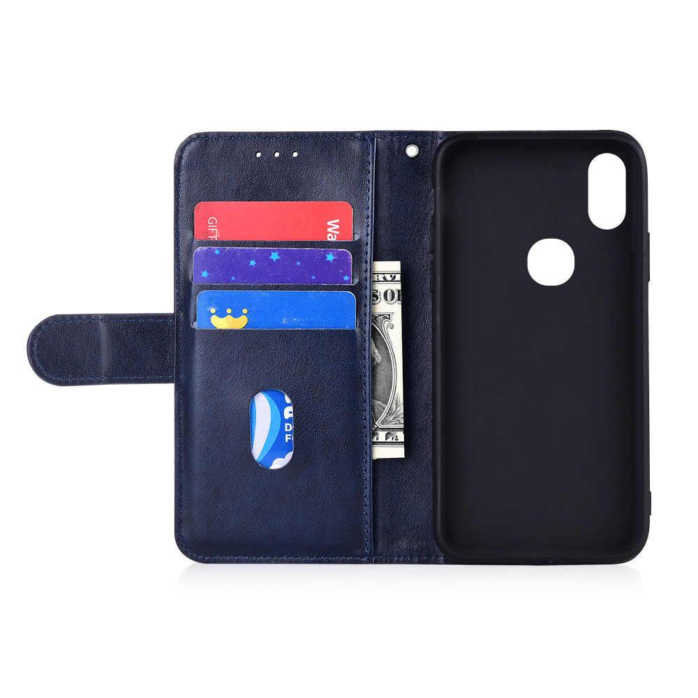 Для Xiaomi Redmi Note 4X4, 5, 7, K20 Pro фотоаппаратов моментальной печати 7S Y3 Y1 S2 7A 6A 5A Prime 4A 4X чехол бумажник с застежкой-молнией чехол для Xiaomi Mi 6X 5X A1 A2 чехол
