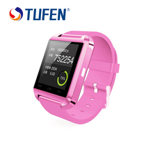 2017 первоначально bluetooth smart watch android smartwatch u8 u часы для apple ios iphone samsung sony huawei xiaomi android телефоны